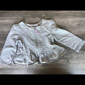 OshKosh jacket with good and zipper